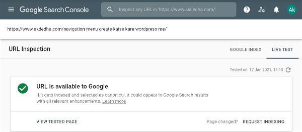 Google search console 06