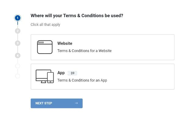 terms & conditions page kaise banaye 01