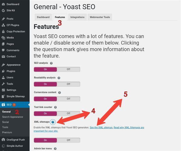 WordPress xml Sitemap 05