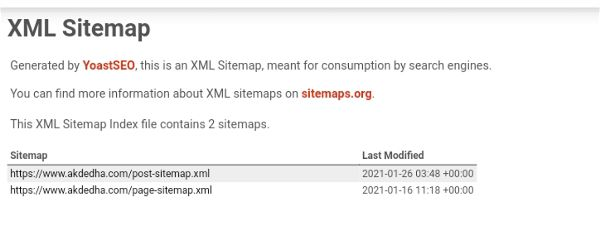 WordPress xml Sitemap 06